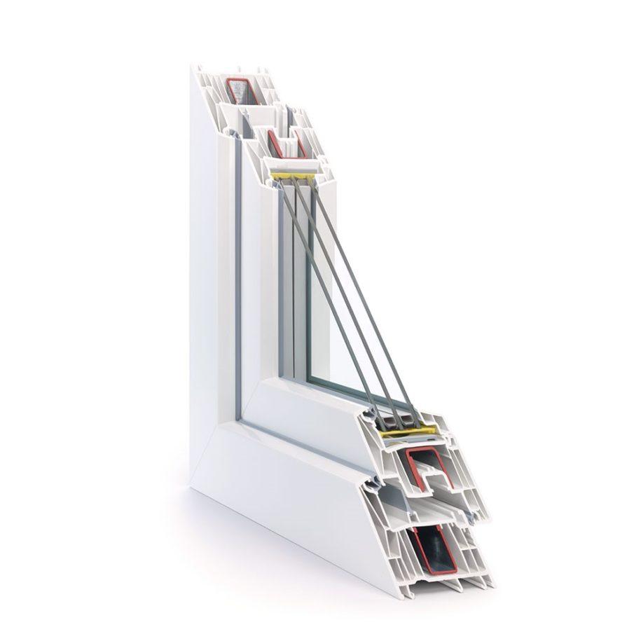 foto le finestre rehau synego 80mm